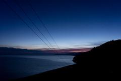 Viewpoint sunrise (Samir Rorless) Tags: silhouette sunrise island sony greece dirtroad lesvos viewpoint lesbos a6000