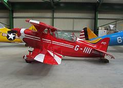 G-IIII Pitts S-2B Special (SteveDHall) Tags: ga airplane airport aircraft aviation aeroplane special airfield aerodrome aerobatics pitts generalaviation headcorn lightaircraft pittsspecial s2b lashenden pittss2b giiii pittss2bspecial s2bspecial