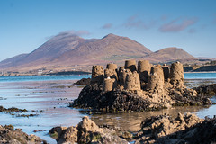 sandcastles (mickreynolds) Tags: ireland oldhead mayo sandcastles 45mm croaghpatrick nx500 wildatlanticway