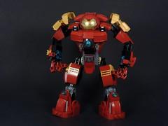 Updated Hulkbuster (MrKjito) Tags: man comics iron comic lego bruce banner tony age hulk marvel stark universe cinematic armour avengers ultron hulkbuster