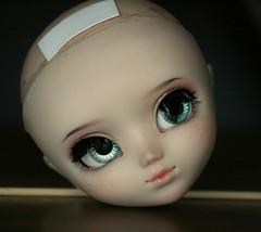 Makeup commission on Pullip (Nina's Doll *MAKEUP COMMISSION CLOSED*) Tags: doll ooak makeup pullip faceup junplanning stica ninadoll fullcustom fullcusto ninasdoll