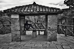Mesmerized by Meteora (deppy_kar) Tags: street people blackandwhite white black monochrome greek blackwhite nikon candid streetphotography greece nikkor dslr chiaroscuro streetview meteora trikala kalabaka thessalia d5200 nikond5200 thessalymacedoniagreece