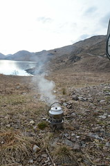 coffee time (BurnThePlans) Tags: camping scotland highlands glen loch van camper arkaig wildcamping vanlife