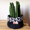 Escher (Carol Grilo • FofysFactory®) Tags: cactus plant planta brasil succulent handmade carolgrilo fabric escher cactos suculenta tecido cachepot fofysfactory cachepo cachefofys