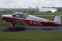 17/04/16 - Jodel D119 - G-AZVL (gbadger1) Tags: d april 119 airfield matters jodel 2016 wellesbourne mountford egbw gazvl
