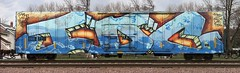 IDC (quiet-silence) Tags: railroad art train graffiti railcar boxcar graff freight goldenwest wholecar idc fr8 miniridge ssw28871