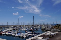 Marina San Miguel, Tenerife (simonturkas) Tags: travel beautiful wow lumix amazing spain sunny calm wanderlust panasonic stunning tenerife incredible canaryislands tranquil lobsterspring gosharetenerife