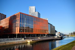 Malm Live (Weekend Wayfarers) Tags: city architecture modern skne europe cityscape sweden cities cityscapes sverige malm malmo malm scania oresund resund skane burlv sknecounty burlov skanecounty malmlive malmolive malmlive