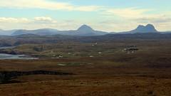 Assynt Landscape (milnefaefife) Tags: sea mountains landscape coast scotland highlands hills loch moor sutherland moorland suilven stoer assynt culkein canisp northwesthighlands pointofstoer stoerhead culkeinbay