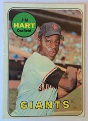 JIM HART SAN FRANCISCO GIANTS 1969 (ussiwojima) Tags: cars 1969 baseball topps jimhart sanfranciscogiants