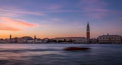 Sunset in Venice (Kayla Stevenson) Tags: venice sunset sky sangiorgiomaggiore