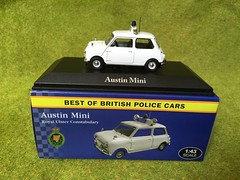 Atlas Editors - Best of British Police Cars - Austin Mini - Royal Ulster Constabulary - Northern Ireland- 1/43 Scale - Miniature Die Cast Metal Scale Model Emergency Services Vehicle (firehouse.ie) Tags: ireland car austin cops royal police mini policecar morris northern ulster ruc peelers constabulary psni