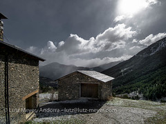 Andorra landscape: La Massana, Vall nord, Andorra (lutzmeyer) Tags: pictures primavera nature rural sunrise landscape photography spring weide europe dorf village photos pics natur pueblo abril natura paisaje images fotos valley april below baixa landschaft sonnenaufgang unten andorra bilder imagen pyrenees tal springtime refuge iberia frühling pirineos pirineus iberianpeninsula parroquia paisatge refugi landleben pyrenäen imatges rurallife poble frühjahr berghütte bordes schutzhütte vallnord sispony iberischehalbinsel sortidadelsol cortalsdesispony lamassanavallnord mfmediumformat livingrural ländlichesleben lamassanaparroquia lutzmeyer lutzlutzmeyercom