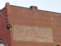 Faded Ghost Sign, Lancaster, OH (Robby Virus) Tags: ohio brick sign wall painted ghost ad advertisement faded signage lancaster advertise