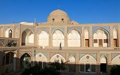 Madrasah, Agha Bozorg Mosque, Kashan, Isfahan province, Iran (susiefleckney) Tags: iran madrasah mosaics mosque kashan aghabozorgmosque isfahanprovince