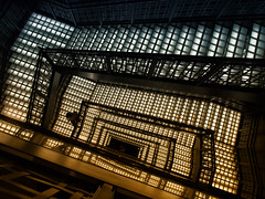 Deep into the Soul (marco ferrarin) Tags: light shadow japan spiral tokyo staircase soul meditation