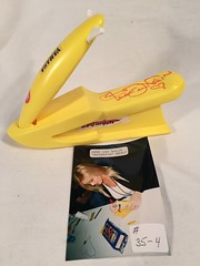 #35-4, Hollywood, Gena Lee Nolin, (Baywatch), Signing, 1994, Mattel, Barbie Baywatch Yamaha Plastic Wave Runner, (Picture Proof Autographs) Tags: classic real photo tv image picture images collection photographs photograph collections hollywood shows proof session collectible collectors collectibles baywatch authentic sessions collector genuine inperson photoproof authenticated pictureproof