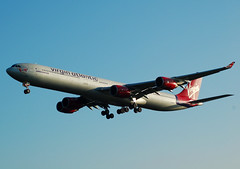 VIRGIN A340 G-VFIZ (Adrian.kissane) Tags: virgin lhr a340 764 gvfiz