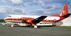 XS610. Royal Air Force Hawker Siddeley Andover E.3 (isdc1316) Tags: june aviation military airshow scanned 1989 raf turboprop prestwick pik royalairforce egpk hs780 xs610 ayronautica hawkersiddeleyandovere3