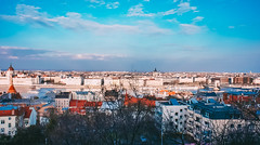 View from Halszbstya (Paula.HK) Tags:  hdr sony  sony5n 18mm vintage film  lightroom photoshop  hungary  budapest    europe tavel   architecture   urban city night nightview pretty beautiful vsco   travel  castle  river