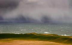 Snowstorm (Caledonia Alan) Tags: nikon snowstorm northsea burnmouth scottishborders