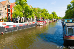 Brouwersgracht (villeah) Tags: house netherlands amsterdam architecture boat canal thenetherlands houseboat nl northholland