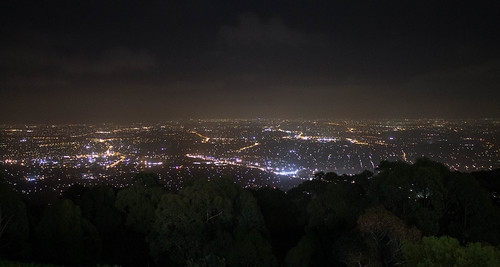 Mount Dandenong ~ Melbourne lights by hAl1927, on Flickr