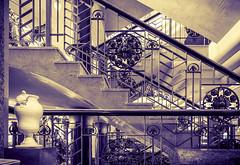 Elegance (nicklucas2) Tags: travel stairs hotel tenerife splittone