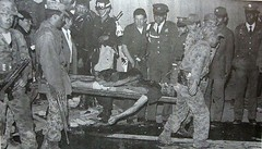 Andrs Almarales' body being carried out of the Palace of Justice in Bogot after his group M-19 had taken over the Palace and were subsequently driven out by security forces november 1985 [960 x 550] #HistoryPorn #history #retro http://ift.tt/1WJyg0s (Histolines) Tags: november history by out justice body being bogot group over taken security palace x retro his timeline were after had 1985 forces andrs subsequently carried 550 driven m19 960 vinatage historyporn almarales histolines httpifttt1wjyg0s