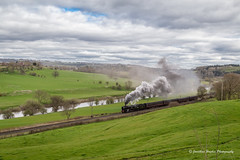 IMG_9006-1 (Nimbus20) Tags: england sky colour sunshine train landscape countryside track shropshire cloudy rail photographic steam worcestershire charter severnvalley severnvalleyrailway bulleid tawvalley 34027westcountry