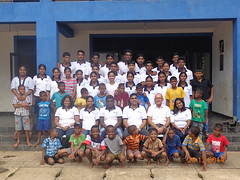 Community project at an orphanage