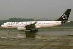 Air China | Airbus A330-200 | B-6091 | Star Alliance livery | Beijing Capital (Dennis HKG) Tags: ca plane canon airplane airport aircraft beijing 7d airbus a330 cca 24105 planespotting staralliance a330200 pek airbusa330 airchina zbaa airbusa330200 b6091