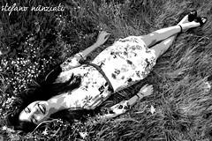 C#06 (Stefanunzio) Tags: flowers italy woman primavera girl grass donna spring italia c olive erba tuscany fiori toscana prato ragazza olivo poggioacaiano bonistallo
