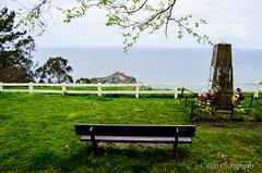Gaztelugatxe View-1 (R!J0) Tags: bench spain san view juan country isle bizkaia basque vasco vizcaya pais gaztelugatxe biscay