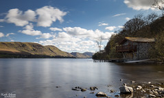 Ullswater (wiganworryer) Tags: park uk blue winter england sky house lake snow mountains cold west nature water clouds canon portland lens landscape photography boat is photo spring angle natural image zoom district north wide may picture duke keith full hills national frame april l series 16 boathouse 35 gibson f4 6d ullswater 2016 wiganworryer