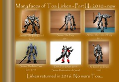 Last stand of Lirken's evolution (~PWLirken) Tags: lego evolution bionicle toa 2010 moc 2015 lirken