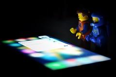 3D Touch! #lego (parik.v9906) Tags: apple project lowlight nikon lego days legos 365 iphone minifigure d90 minifigures 6s