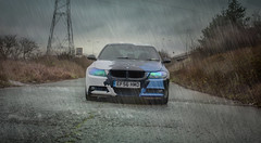 IMG_6582deszcz (piotr.solecki) Tags: blue black color london rain canon wrapping army photography 50mm nice wrap polish automotive camo stunning bmw moro pitu