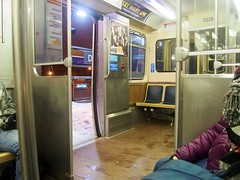 Rainy, wet, and cold (Miles Thompson) Tags: chicago cta chicagol ctabrownline