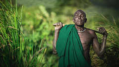 Bololé (Cyril Blanchard) Tags: voyage africa travel boy portrait people color male green beauty horizontal photography photo natural outdoor military country culture tribal noflash valley tribes omovalley machete tradition ethiopia tribe ethnic surma guardian afrique developing tribu nomade nomadic omo äthiopien suri etiopia abyssinia greenbackground ethiopie realpeople etiopía nomades onemanonly africanpeople エチオピア africanethnicity 1people ethnie ethiopië indigenousculture kibish etiyopya armedman nomadicpeople surmatribe traditionallifestyle surmas эфиопия abissínia tulgit valléedelomo اثيوبيا indigeneousculture personnesnomades personnenomade