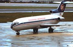 YU-AKJ Boeing 727 231 JAT at Heathrow (Dave Russell (800k views)) Tags: airplane airport heathrow aircraft jet aeroplane passenger boeing airliner 727 jat yuakj