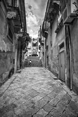 Modica 's street (stefanobiserni) Tags: 2 italy 21 sony olympus sicily om a7 sicilia ragusa modica