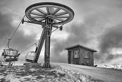 La fin d'une époque ... (Nord Atlas) Tags: snow cold montagne 21 earth apocalypse cop end summit neige fin sommet climat réchauffement climatique