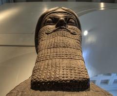 Lamassu face , British Museum (neilalderney123) Tags: face museum olympus britishmuseum lamassu omd 2015neilhoward omde5mk2
