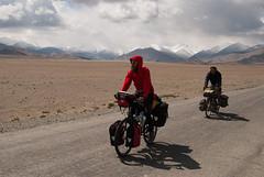 It's time to cycle further (Michal Pawelczyk) Tags: road trip holiday mountains bike bicycle june nikon asia flickr village aim karakul centralasia pamir gory wakacje 2015 czerwiec azja d80 pamirhighway gbao azjasrodkowa azjacentralna