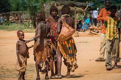 Ethiopia, Hamar Tribe, South Omo (kiwi vic) Tags: travel market culture tribal ethiopia tribe hamar southomo