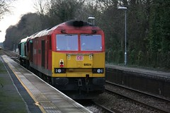 IMGA1254 66056 60024 0V41 Dean 21 Jan 16 (Dave58282) Tags: dean rail 29 60024 66056