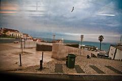 "View at Alfama, Lisbon ( or ""Behind the tram's windshield"" ) (-Visavis-) Tags: lisboa lisbon alfama tram28 gull reflections slanted throughtheglass dream sonho reflexões atravésdovidro atravesdelvidrio sueña gaviota gaivota reflexiones eléctrico tranvía inclinado inclinada canonef24105mmf4lisusm"