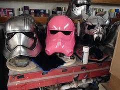 TIE Pilot Helmet Prototype Ready to Mold (thorssoli) Tags: starwars costume helmet replica armor prop tiepilot tfa firstorder tiefighterpilot episode7 phasma episodevii ep7 chrometrooper forceawakens epvii captainphasma