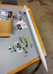 Rocketry Electronics (Wolfram Burner) Tags: building oregon design community space eugene electronics rockets burner maker making rocketry wolfram accelerometers altimeters euroc makerspace